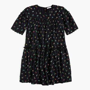 New CREWCUTS Girls' floral clip-dot dress